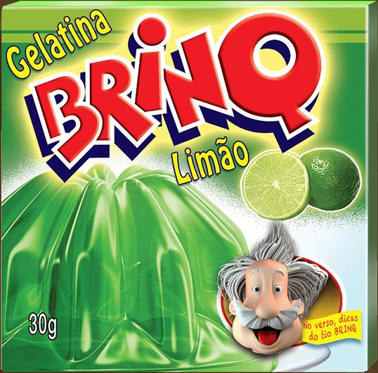Gelatina Brinq - Limão
