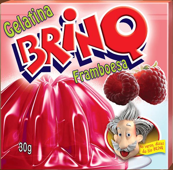 Gelatina Brinq - Framboesa