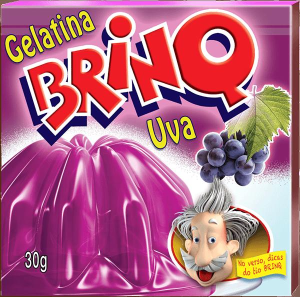 Gelatina Brinq - Uva
