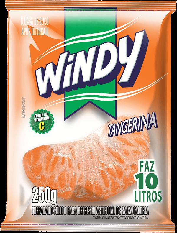 Refresco em pó Windy - Tangerina