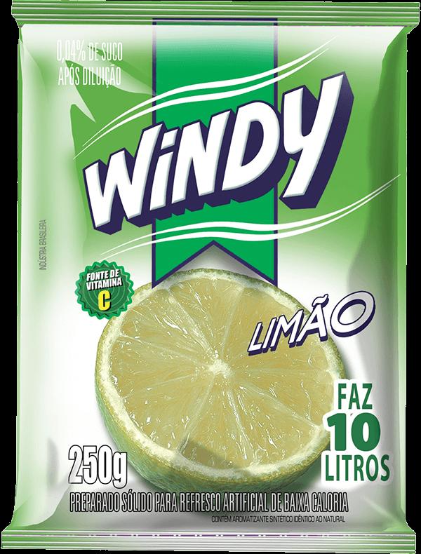 Refresco em pó Windy - Limão