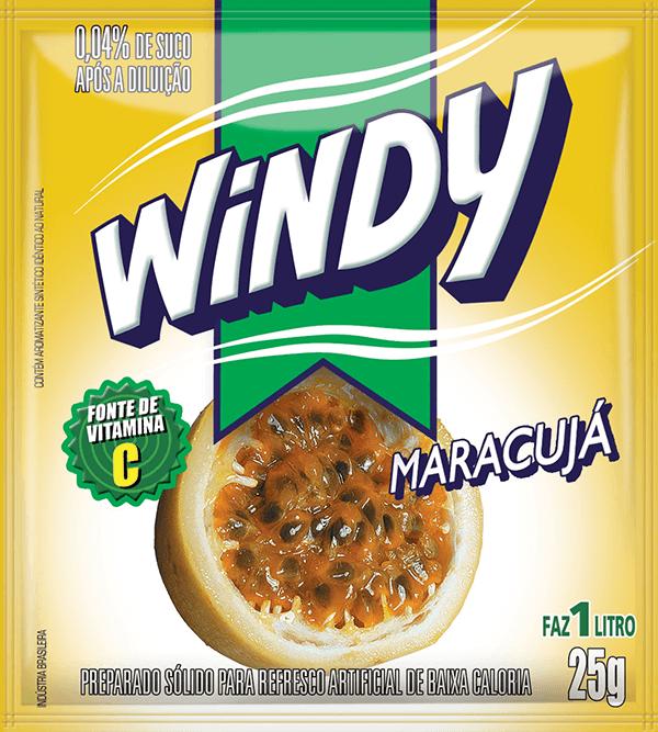 Refresco em pó Windy - Maracujá