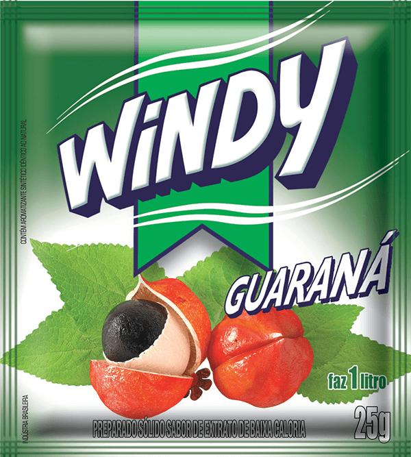 Refresco em pó Windy- Guaraná