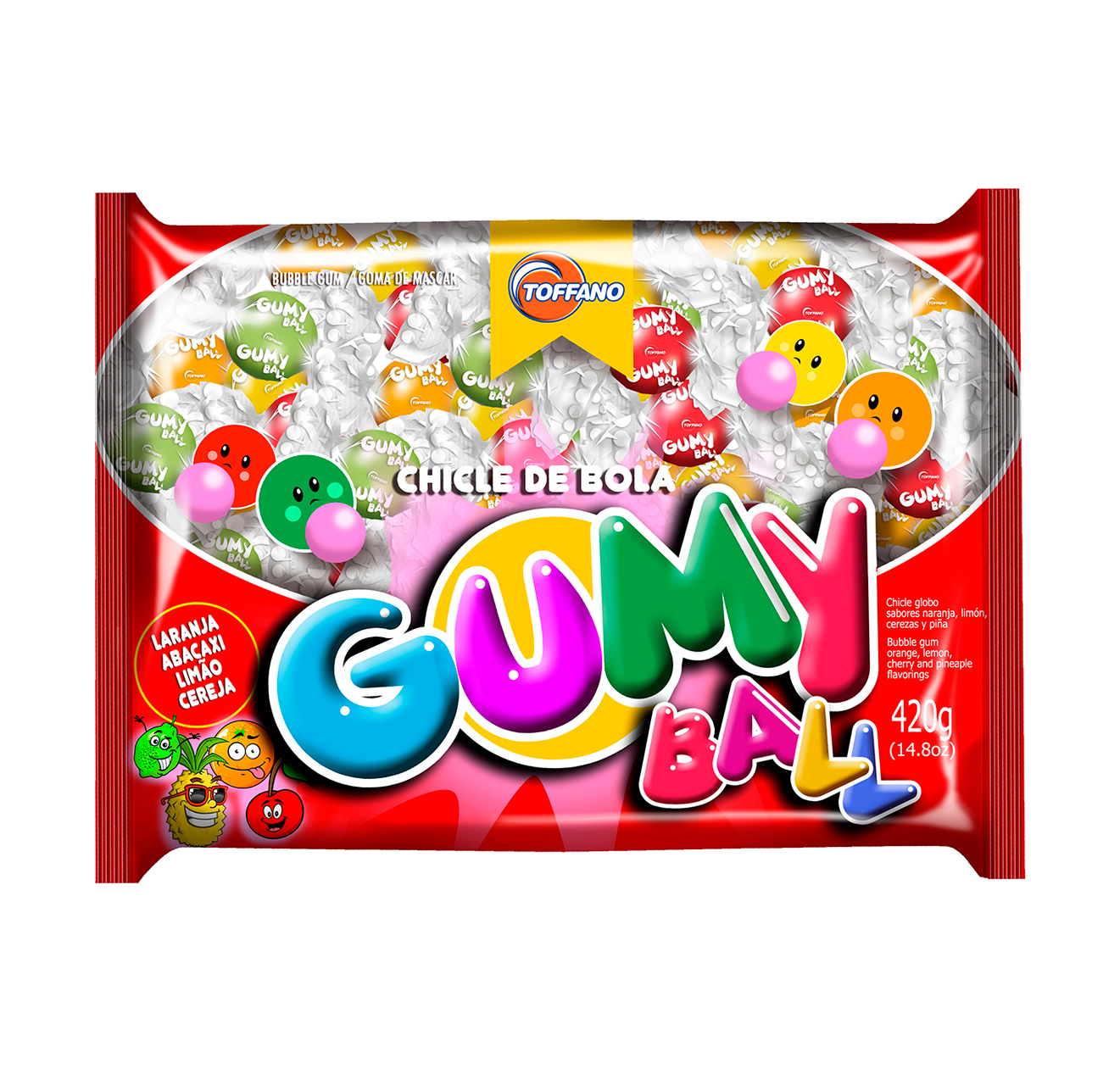 Gumy Ball 12 Pcts x 420gr