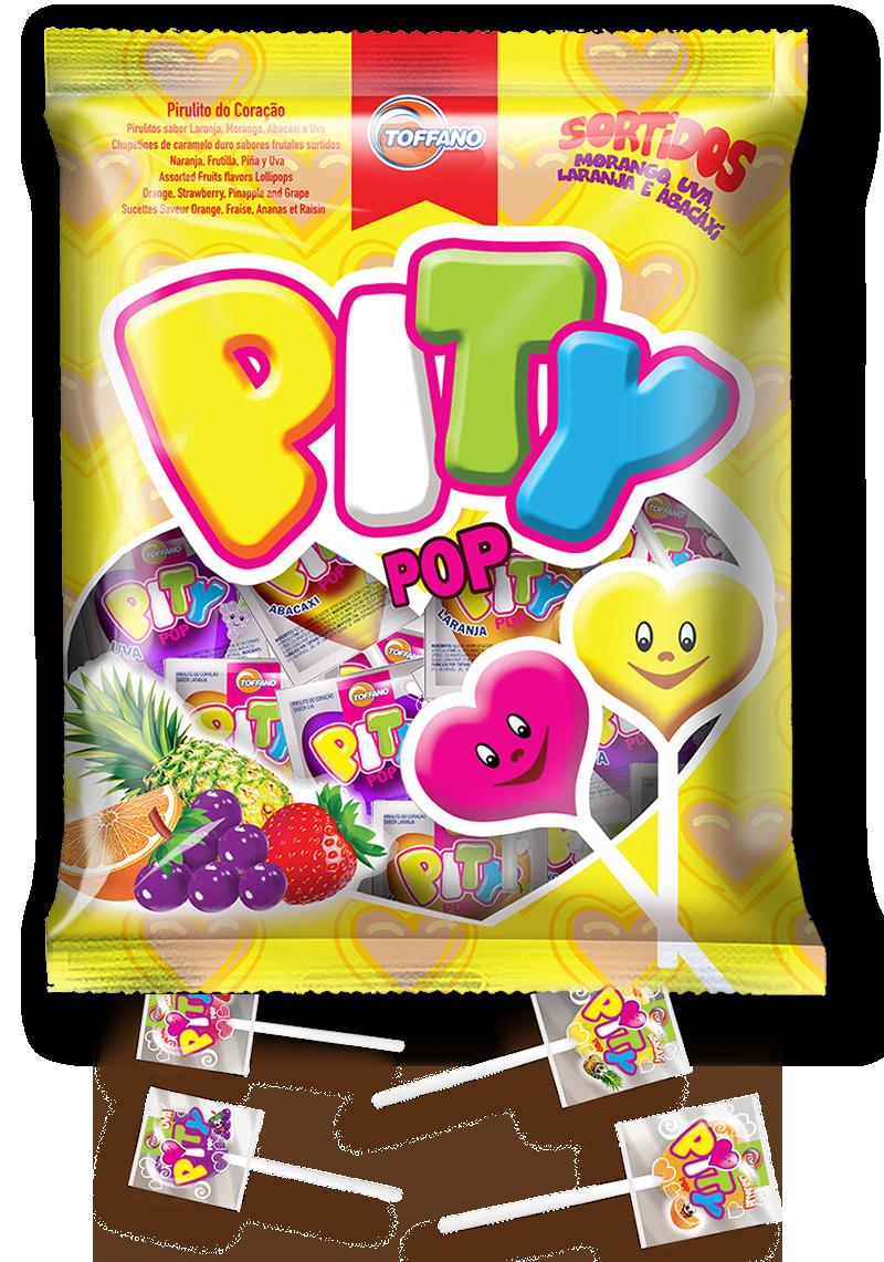 Pity Pop - Pirulito Frutas