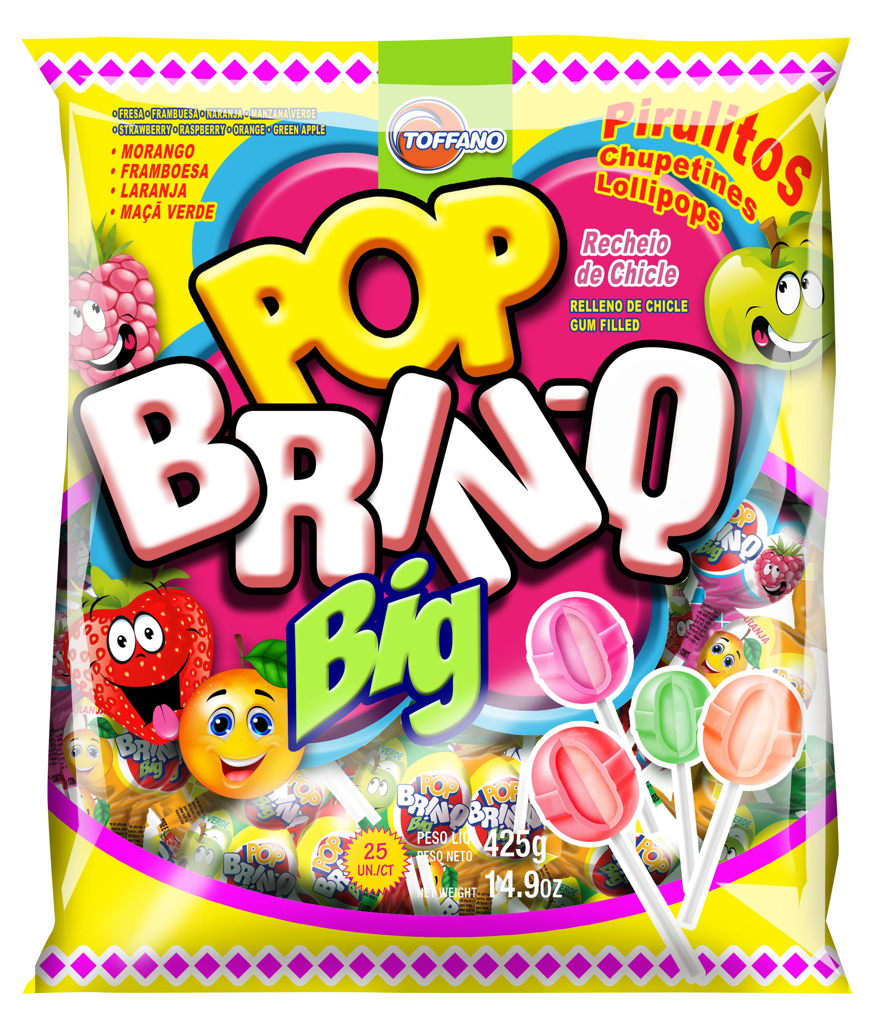 Pirulito Pop Brinq Big Frutas